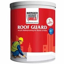 Berger Home Shield Roof Guard Acrylic Waterproofing Chemical, For Roofs And Walls