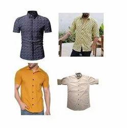 Collar Neck Rayon Shirts