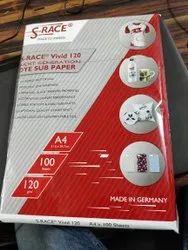 S Race Sublimation Paper