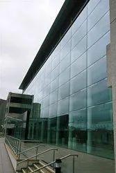 Semi Unitized Structural Glazing