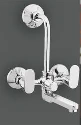 Modern Double Handle Stainless Steel Wall Mixer, Model Name/Number: Phantom, Packaging Type: Box