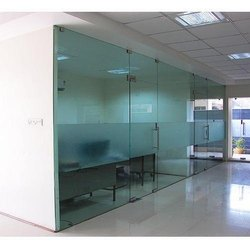 Sliding Plain Taffan Glass Door