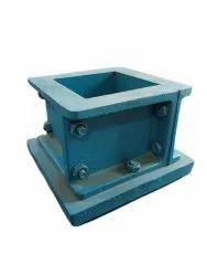 70.06mm  Cast Iron Cube Mould