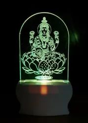 Shayona  Color 3D  Illusion LED  Acrylic Night Lamp