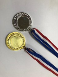 Gold And Silver Medal