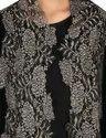 Velvet Zari Lace Shawl