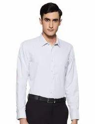 Flat Regular Fit Formal Pant And Shirt, Regular Wash