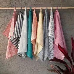 27 colours avialable Linen Kitchen Towel, Linen Tea Towel, Hand Towel, Natural Dish Towel, Wash Type: Machine Wash, 50 Gms