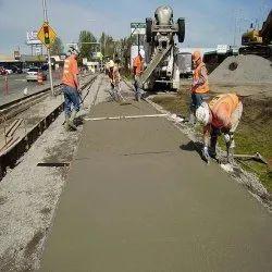 中心线混凝土道路施工服务,潘印度