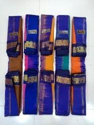 Pure Gadwal Handloom Kanchi Pattu Cotton Saree