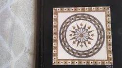 Glossy Designer Square Ceramic Floor Tiles, Thickness: 5 mm