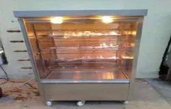 Silver Stainless Steel Grill Chicken Machines
