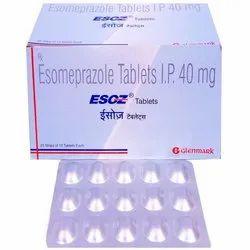 Esoz 40 Mg Tablet  Esomeprazole