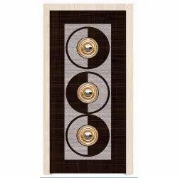 Rectangular Wooden Laminated Hinged Door