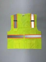 Reflective Safety Vest, Gsm: 90, Size: S-xl