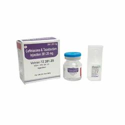 Ceftriaxone 250mg Tazobactam 31.25mg Injection
