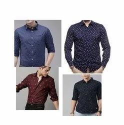 Dotted Printed Shirts