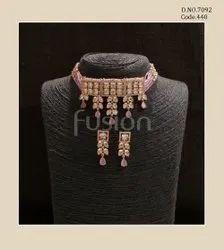Fusion Arts AD Choker Necklace Set