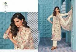 Pure Cotton Digital Printed Fancy Ladies Salwar Kameez Suit