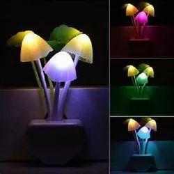 Warm White Mini Mushroom Light, For Home