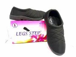 LEGS STEP Daily Wear Ladies Slip On Canvas Shoe, Size: Uk Size