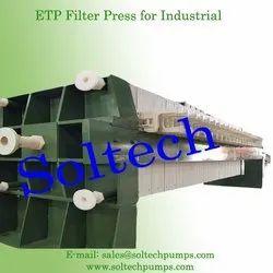 ETP Filter Press for Industrial