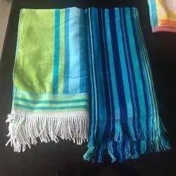 Seetex Stripped Multicolor Beach Towel, 450-550 GSM