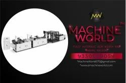 Full Automatic Polythene PP Eco Cloth Biodegradable Garbage Bag Making Machine