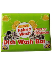 Solid Lemon 90g Dish Wash Bar, Shape: Rectangle, Packaging Type: Packet