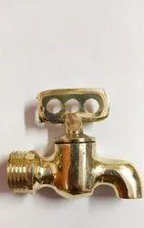 Bathroom Brass Taper Cock, Size: 15 Mm