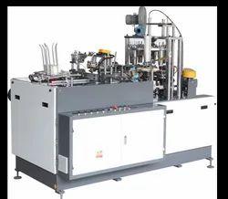 Semi Automatic Paper Glass Making Machine