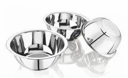 Sarita Round Stainless Steel Vinod Bowl, Thickness: 22 Gauge