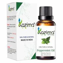 KAZIMA 100% Pure Natural & Undiluted Peppermint Oil