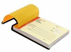 Paper Bill Book Printing For School