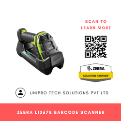 Zebra LI3678 Barcode Scanner