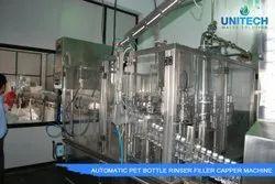 90  BPM Pet Bottle Rinsing Filling Capping Machine