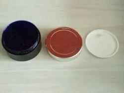 50 Gm Amber Jar