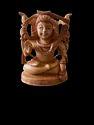 Shankar Ji Wooden Murti 4 inch