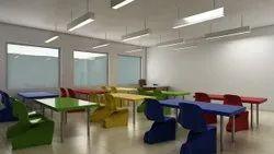 School Building Interior Designing Service