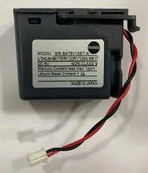 Mitsubishi MR-BAT6V1SET-A Lithium Battery, Battery Capacity: 1650mah
