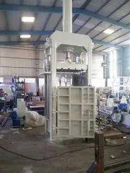 FIBC Jumbo Bags Baling Press Machine