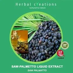 Herbal Creations Saw Palmatto Liquid Extract, Packaging Type: Hdpe Can, Pack Size: 35 Kg