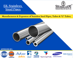 EIL Approved Stainless Steel Seamless Polished Pipes
