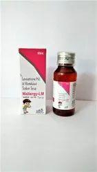 Levocetirizine Hcl. & Montelukast Sodium Syrup