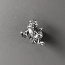Robe Hook Angel, For Home, Material: Antique Tin