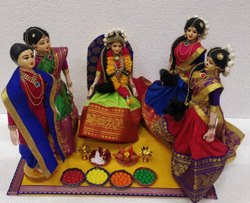 Half Saree / Langavoni Function Dolls