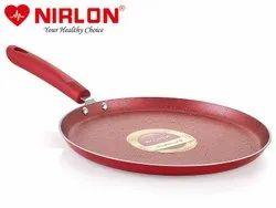 Nirlon Non Stick Tawa Red-Velvet Induction Base