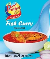Pruthvi Gold Fish Curry Masala Powder, Packaging Size: 12 gm, Packaging Type: Packets