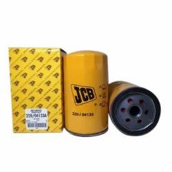 Stainless Steel Yellow JCB Oil Filter, Automation Grade: Manual