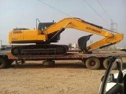 Hyundai Excavator Rent Services